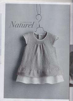 la comunione o la damigella alle nozze della zia. (cursor down the page to this. la comunione o la damigella alle nozze della zia. (cursor down the page to this post, need to translate this, or try to find a pattern similar) baby babysachen. Knit Baby Dress, Knitted Baby Cardigan, Knit Baby Sweaters, Knitting For Kids, Baby Knitting Patterns, Little Girl Dresses, Baby Sewing, Doll Clothes, Kids Outfits