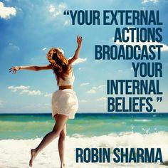 Actions. Beliefs.