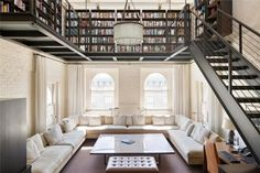 High ceilings are a great reason to build up.