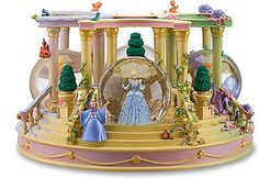 How cute would it be to have Disney Snowglobes as part of the centerpieces? Super cute