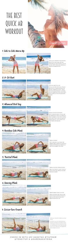Workout with us!! Summer abs in 7 minutes! http://leanwife.com/body-sculpting-fitness-workouts-for-women-101/: