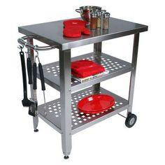 Cucina Avanti Portable Kitchen Island by John Boos  $720  30 x 20 x 35