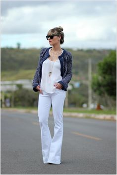 Tricô estilo Tweed