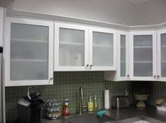 frosted glass cabinet doors - Google Search