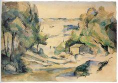 Cézanne - Landscape in Provence