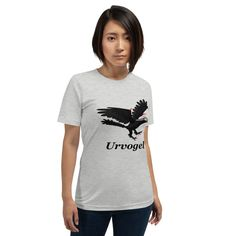 My Urvogel (Archaeopteryx) on a t-shirt for bird lovers.