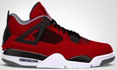 timeless design 26736 e5d33 Air Jordan 4  Red Suede  - Release date
