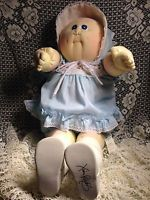 Cabbage Patch Kid Vintage Soft Sculpture Doll The Little People Xavier Roberts