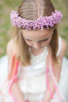 every last detail | wedding inspiration | flower girl | flower crown | little cutie | wedding kids