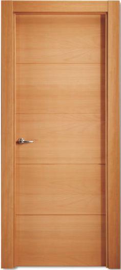 Los mejores dise os de puertas de madera modernas para for Modelos de puertas de madera para dormitorios
