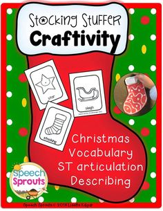 Speech Sprouts: Christmas Speech Therapy