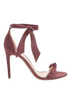 d022fa64dc ALEXANDRE BIRMAN - Sandália suede Clarita - roxo - OQVestir Ver Sapatos