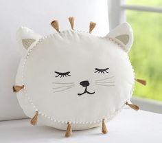 The Emily Meritt Sleepy Kitty Decorative Pillow & das emily meritt sleepy kitty dekokissen & & l'oreiller décoratif emily meritt sleepy kitty & la almohada decorativa emily meritt sleepy kitty Baby Pillows, Kids Pillows, Throw Pillows, Couch Pillows, Emily And Meritt, Diy Bebe, Star Nursery, Cat Pillow, Sewing Pillows