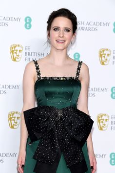 Rachel Brosnahan Photos - Rachel Brosnahan poses in the press room during the EE British Academy Film Awards at Royal Albert Hall on February 2019 in London, England. Indian Celebrities, Hollywood Celebrities, Hollywood Actresses, Actors & Actresses, Best Actress, Best Actor, Film Elizabeth, Best Costume Design, Letitia Wright
