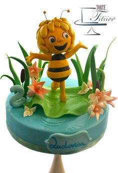 Maya the bee for Ludovica - Cake by Torte Titiioo