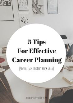 career planning advice