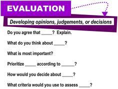 Evaluation [critical thinking skills] by Enokson, via Flickr