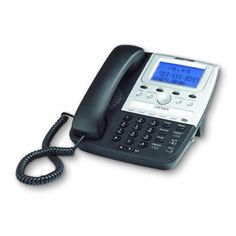 Feature w/ CID BLACK. Feature w/ CID BLACK- Cortelco corded telephone- Caller ID, call waiting caller ID- Caller ID memory- Wide angle, adjustable, backlit (blue) LCD display - Voicemail indication - Mute with LED indicator - Hold with Telephone Vintage, Refurbished Phones, Desktop, Plate Camera, Phone Store, Phone Deals, Phones For Sale, Usb, Caller Id