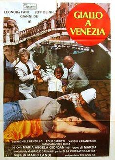 """Giallo in Venice (Mario Landi, 1979, """"Giallo A Venezia,"""" A. K. A. Thrilling in Venice)"""