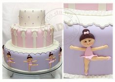 Ballerina Cake by Arte da Ka via Flickr