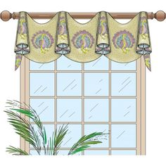 This design was inspired for people who want a simple and professional-looking window treatment that is easy to make.