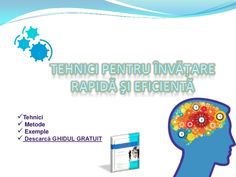 Tehnici de invatare accelerata Cool Websites, Online Marketing, Psychology, Language, App, Learning, Psicologia, Studying, Languages
