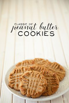 Classic Jif Peanut-Butter Cookies by WhipperBerry