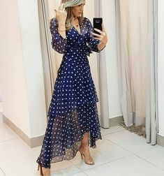 11 Best Summer Dress Fashions - 1 This summer is the most fashionable dresses. These fashion dresses will suit you very well. Outdoor Fotografie, Dress Outfits, Fashion Dresses, Maxi Dresses, Best Summer Dresses, Dresscode, Elegant Outfit, Mode Style, Dot Dress