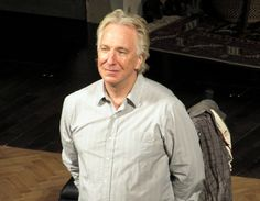 """grangerwarrior: """" """" I captured these pictures of Alan Rickman after seeing him in the play, Seminar, in November 2011. It was such a gift to see him perform in person. If anyone would like to use..."""