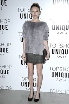Kate Bosworth in Topshop Pixie Geldof, Nordstrom Shoes, Topshop Unique, Topshop Style, Kate Bosworth, Red Carpet Gowns, Shirt Skirt, Rihanna Pixie, Style Icons