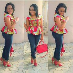These fashionistas are proving Ankara print is here to stay! Ankara is so versatile and it is pretty cool to know you can sew any design of your choice…