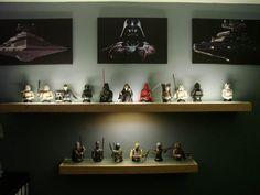 Classy Star Wars display