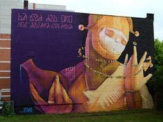"""Os melhores grafites do """"Mural Festival 2014"""""""