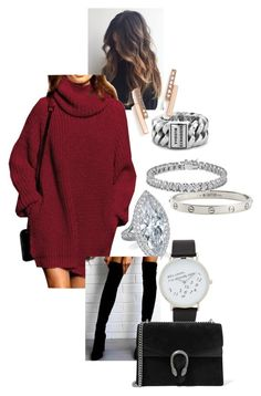 """""""Geen titel #138"""" by strotsenburg on Polyvore featuring mode, Cartier, Apples & Figs, ALDO, Gucci, Buddha to Buddha en Zoë Chicco"""