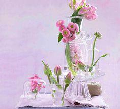 Duftendes, federleichtes Ensemble - Frühling auf dem Tisch 12
