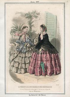 June, 1855 - Le Conseiller des Dames & Demoiselles