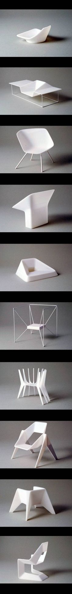 One to Five Chair Series Design by Thomas Feichtner