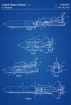 Rocket emergency device patent space art aviation art blueprint space shuttle patent space art aviation art blueprint pilot gift aircraft decor space poster space malvernweather Images