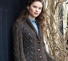 Free pattern: gorgeous Debbie Bliss Lace Jacket - knit it for 23% less for a limited time only!