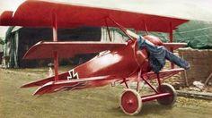 Manfred von Richthofen's Fokker Dr1 425/17 - 1918