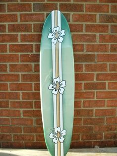 Your place to buy and sell all things handmade - Surfing - Surfboard wall art, surfboard wall hanging, four foot beach decor via Etsy - Longboard Design, Skateboard Design, Skateboard Art, Beach Room, Beach Art, Beach Condo, Surfboard Decor, Surf Decor, Beach Cottage Decor