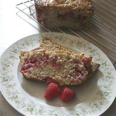 Zucchini-Raspberry Bread Allrecipes.com