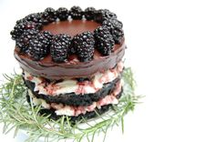Black(berry) Forest Cake