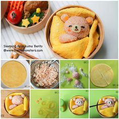 rilakkuma - lunch box for kids - Bento Ideas Bento Box Lunch For Kids, Bento Kids, Cute Bento Boxes, Lunch Ideas, Lunch Boxes, Japanese Bento Box, Japanese Food Art, Bento Recipes, Baby Food Recipes