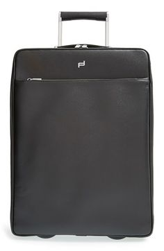 Porsche Design 'French Classic 3.0' Wheeled Leather Carry-On (20 inch)