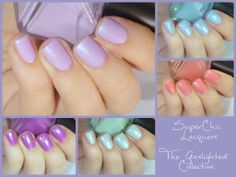 SuperChic Lacquers by Wonder Beauty Products The Gaslighted Collection   @Amandalandish
