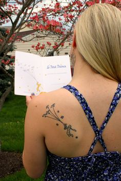 Le Petit Prince... another inspiring tattoo I saw on a waitress in Toronto