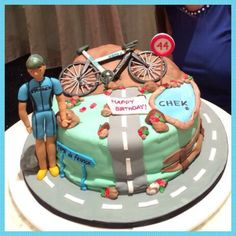 Cyclist fondant of a Storck bike