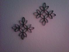 made from toilet paper rolls