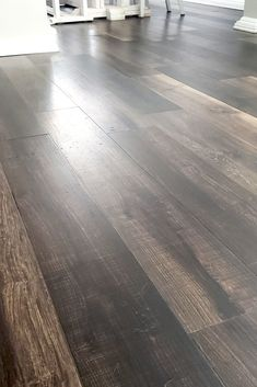 rustic flooring How to install dark brown wide plank luxury vinyl flooring